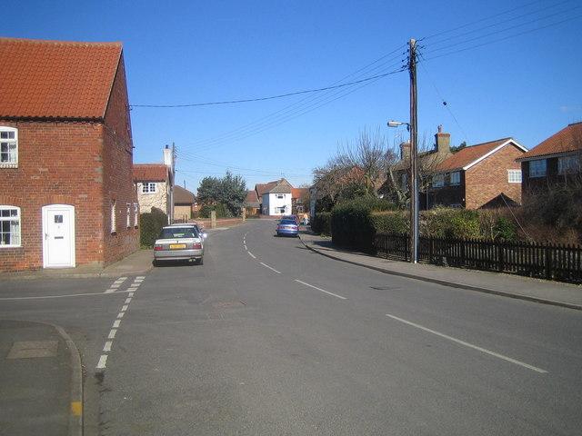 Bassingham High Street