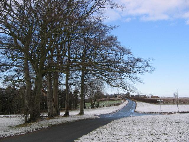 Road Junction at SE813673