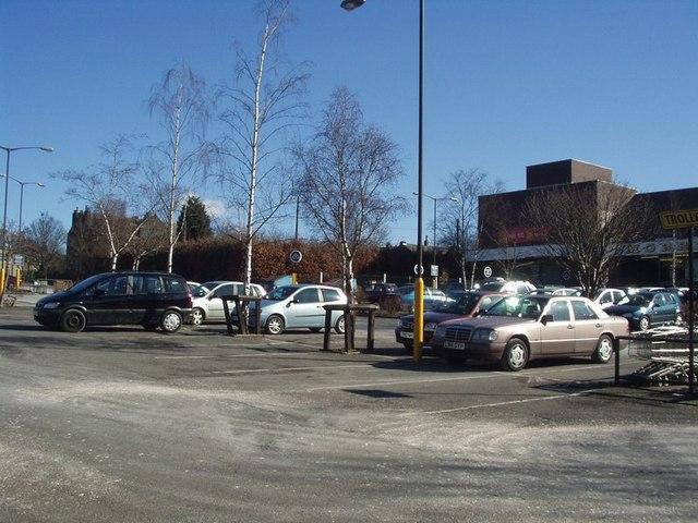 Morrisons  Car Park, Horsforth