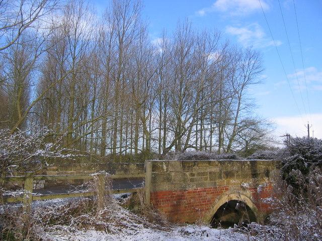 Mantledam Bridge Over Clombe Beck