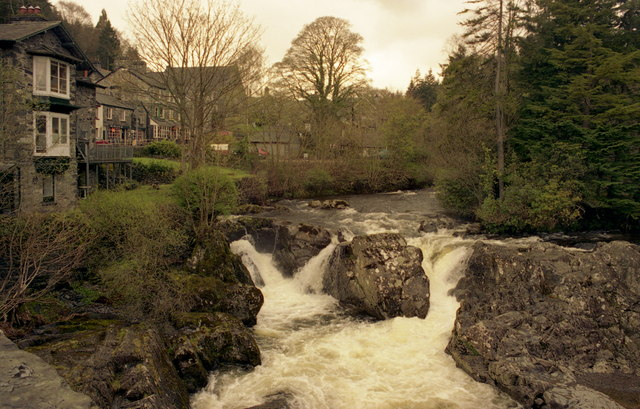 Waterfalls, Betws-y-Coed, North Wales