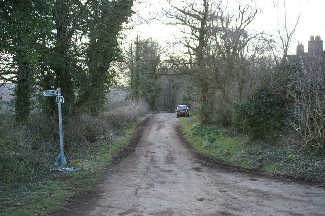 Lane on Backwell Hill
