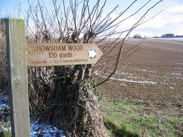 Farmland Near Howsham Wood