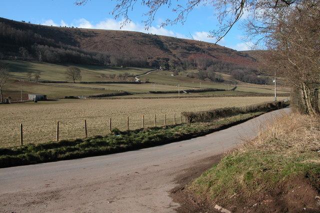 Vale of Ewyas from near Ty-ddraenen