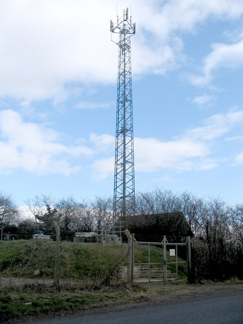 Reservoir and Comms Mast