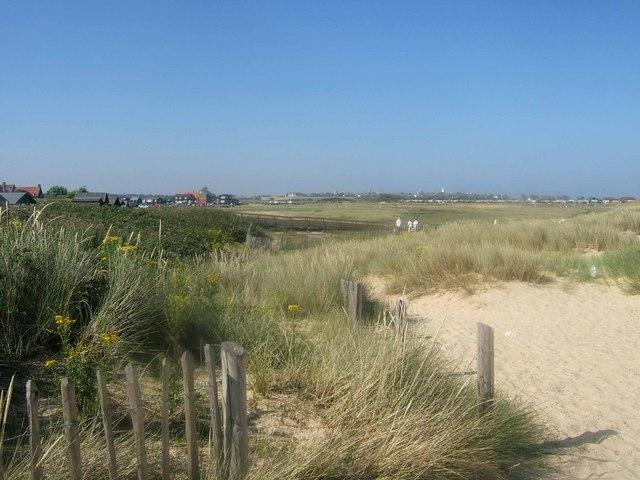 Walberswick dunes