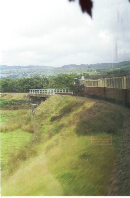 Ffestiniog Railway, Dduallt Flyover