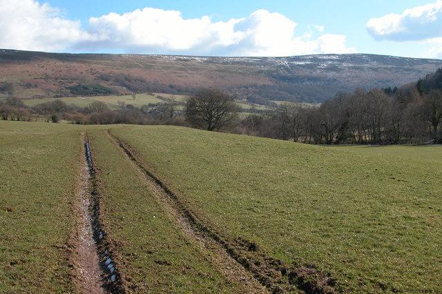 Footpath to Maes-y-Beran