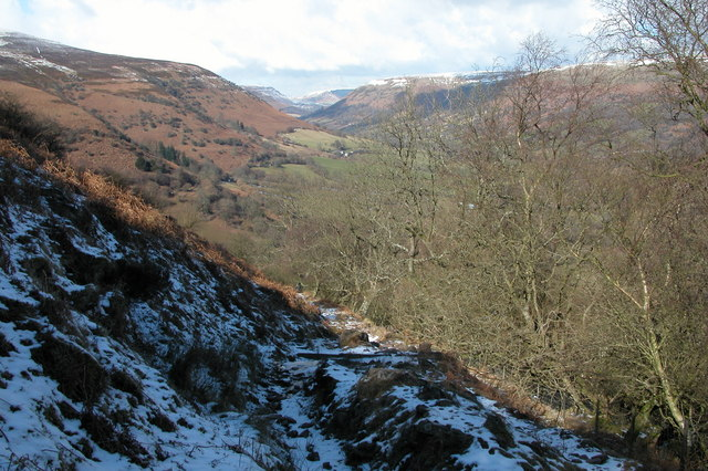 View up the Vale of Ewyas