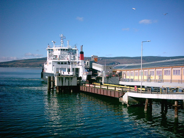 Rothesay Ferry at Wemyss Bay