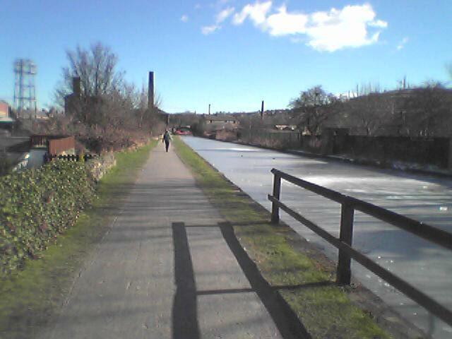 View from Gallows Bridge, Shipley