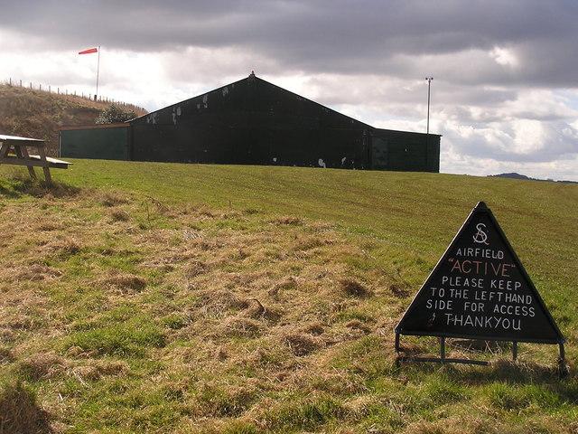 Hangar, English Bicknor Airfield