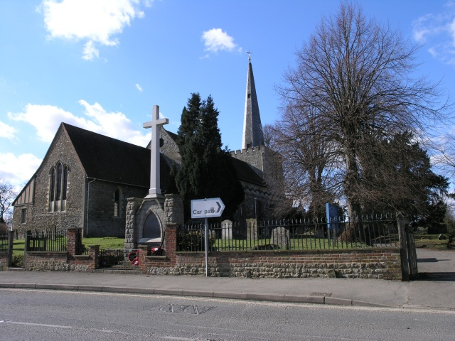Church of St. Mary, West Malling