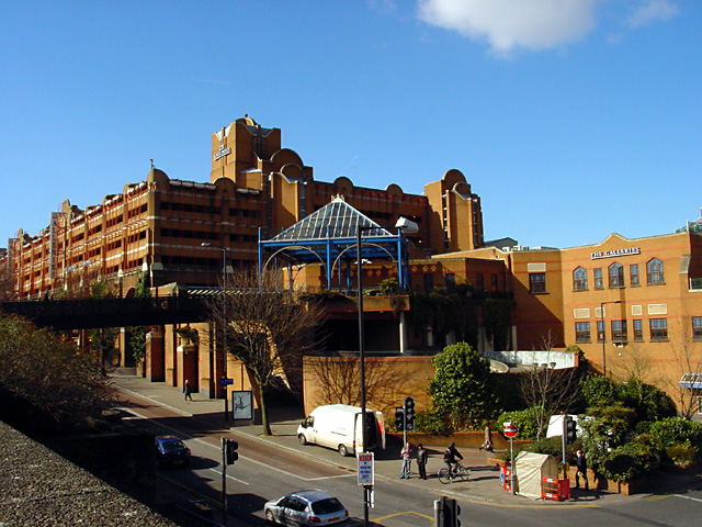 The Galleries Shopping Centre and Car Park