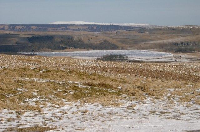 A Frozen Malham Tarn