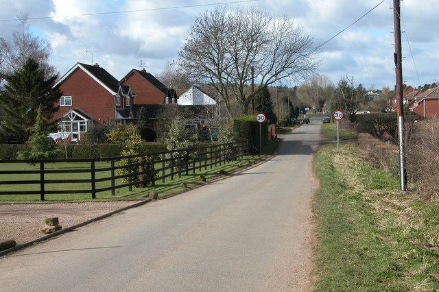 Haye Lane, Ombersley
