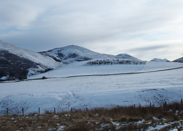 View of Pentland Ridge from Maiden's Cleugh