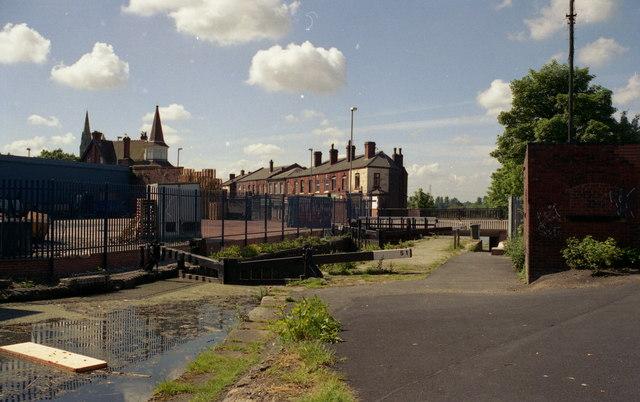 Blue Pits Top Lock, Castleton, Rochdale, Lancashire.