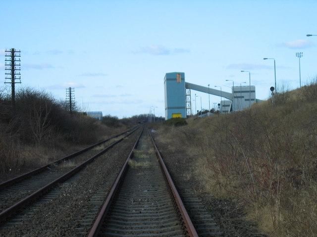 Disused railway line, Follingsby