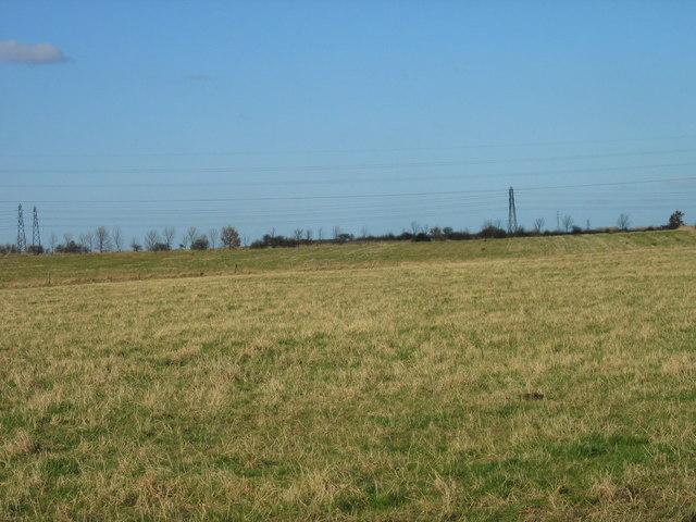 Farmland near Follingsby