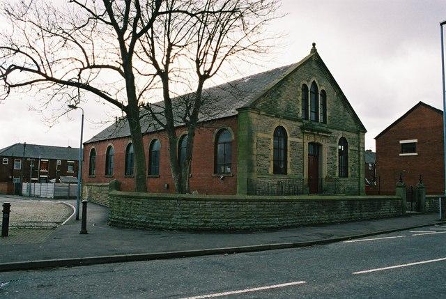 Baptist Church, Overt Street, Deeplish, Rochdale Lancashire.