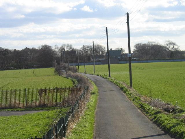 Mundles Lane, Boldon