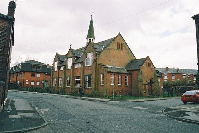 St. Luke's Church, Salkeld Street, Deeplish, Rochdale, Lancashire