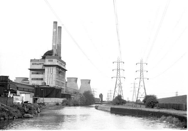 Brimsdown Power Station 1975