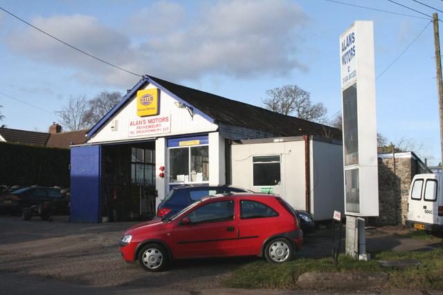 Payhembury: Alan's Motors