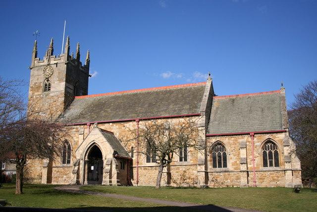 St.Margaret's church, Laceby, Lincs.