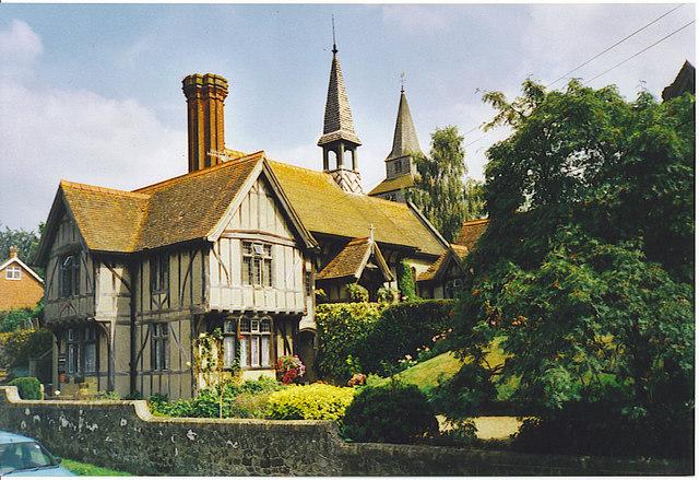 Almshouses at Godstone.