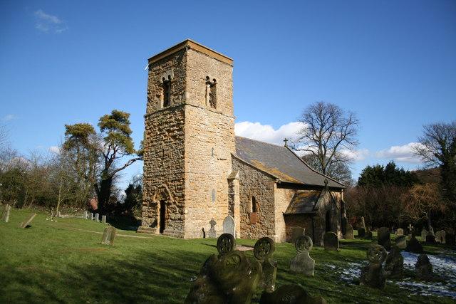 St.Mary Magdalene's church, Rothwell, Lincs.
