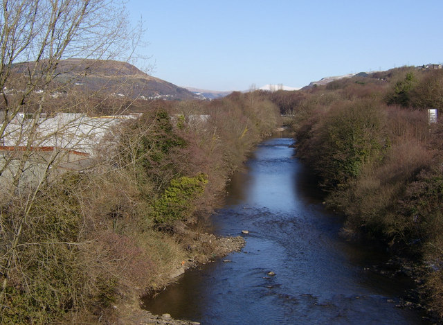 The River Tawe at Pontardawe