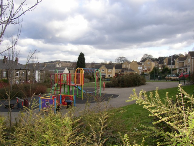 Playground in recent housing estate, Lower Hopton, Mirfield (SE199192)