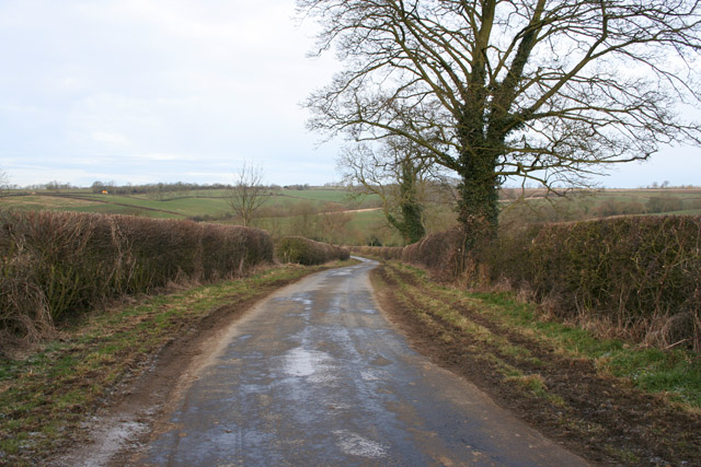Country Road near Shoby