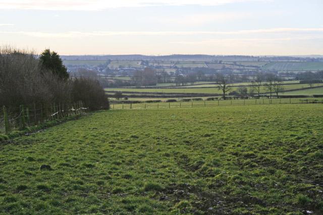 Farmland near Shoby, Leicestershire