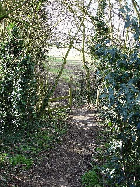 Footpath to Wrens Road
