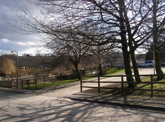 Entrance to Rastrick Health Centre (SE 137 213)