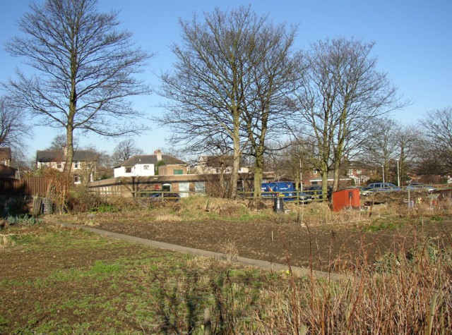 Allotments and Health Centre off Chapel Croft, Rastrick (SE 137 213)