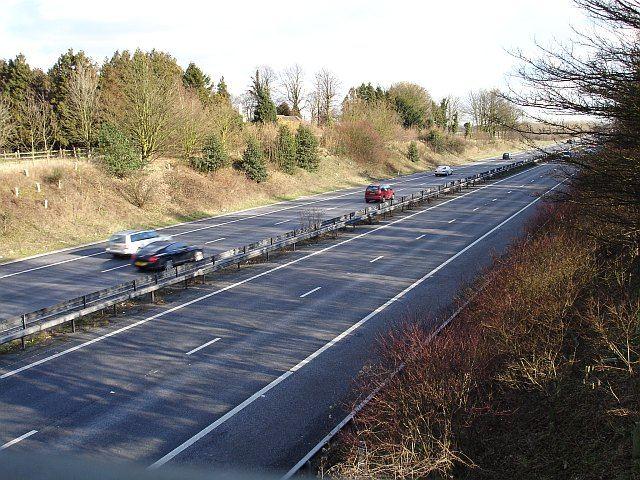 M2 motorway, Bredgar