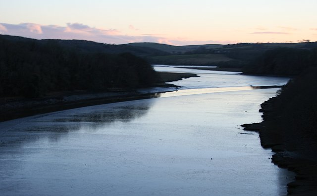 Evening on the River Lynher