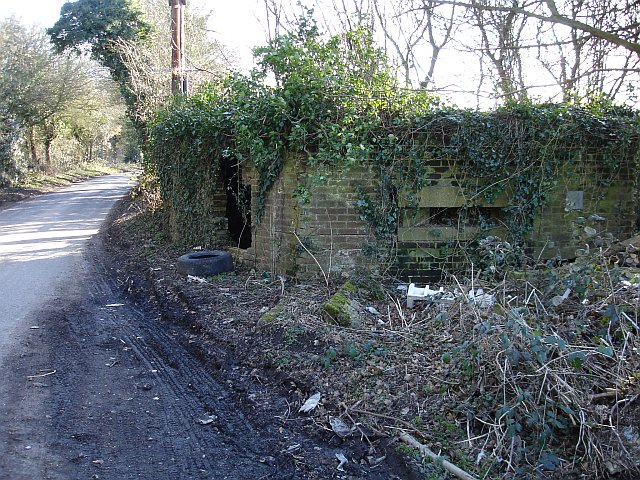 Pillbox on Binbury Lane