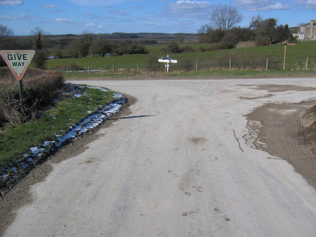 Junction Near Partridge Hall