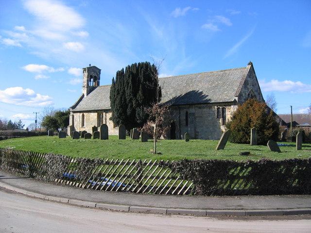 St. Giles Church, Burnby