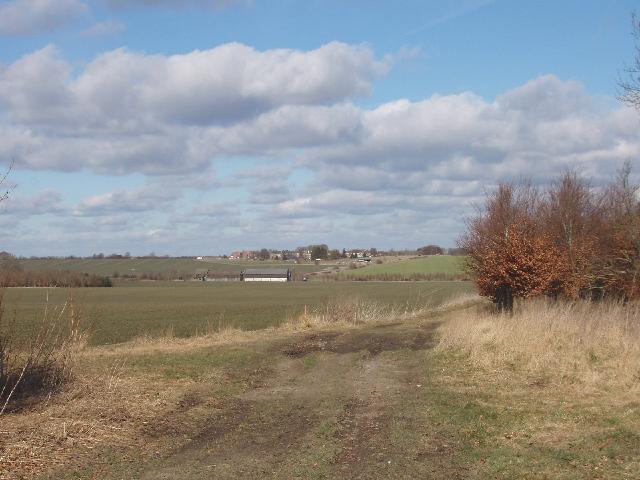 Farmland below Burderop Down