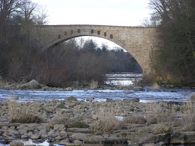 Winston Bridge from the South