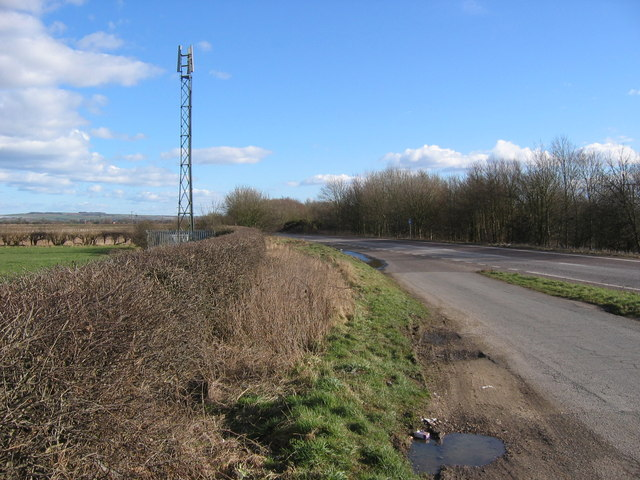Lay-by on the A1079