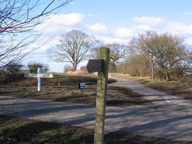 Road Junction at SE814428