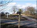 SE8142 : Road Junction at SE814428 by Stephen Horncastle
