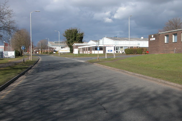 Berry Hill Industrial Estate, Droitwich